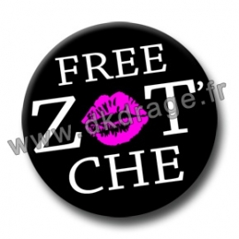 Badge Made in DK Free Zot'che