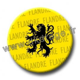 Badge Made in DK Flandre / Vlaanderen