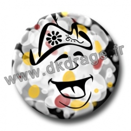 Badge Made in DK Y'a d'la joie