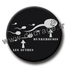 Badge Made in DK Spermato Dunkerquois 38mm