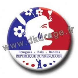 Badge Made in DK République Dunkerquoise