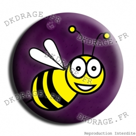 Badge Made in DK L'abeille