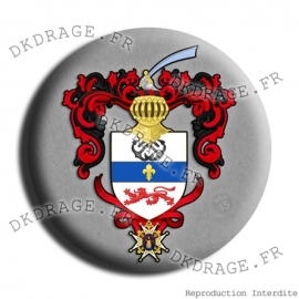 Badge Made in DK Grandes armes de Jean Bart