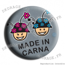 Badge Made in DK Couple Made in Carna