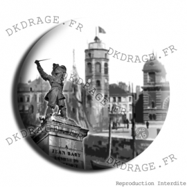 Badge Made in DK Jean Bart Dunkerque