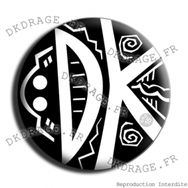 Badge Made in DK Masques lourds