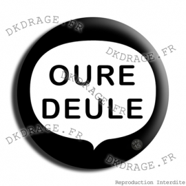 Badge Made in DK Wiche Wiche Wiche