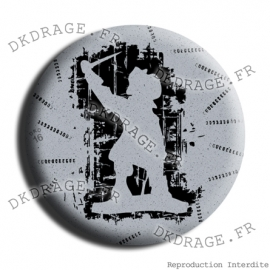 Badge Made in DK Jean Bart