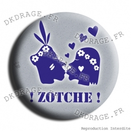 Badge Made in DK Le Zotche