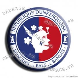 Badge Made in DK République Dunkerquoise V2.0