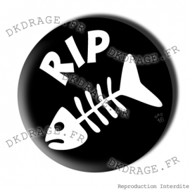 Badge Made in DK RIP Klipper