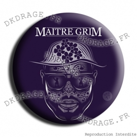 Badge Made in DK Maitre Grim