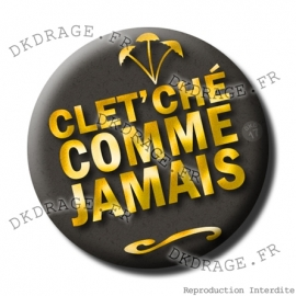 Badge Made in DK Cletche comme jamais
