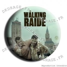 Badge Made in DK The Walking Raide