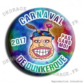 Badge Carnaval de Dunkerque 2017 collector