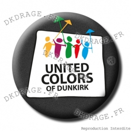 Badge Made in DK United Colors of Dunkirk
