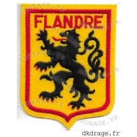 Ecusson brodé Blason Flandre Jaune
