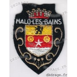 Ecusson brodé Blason MALO-LES-BAINS