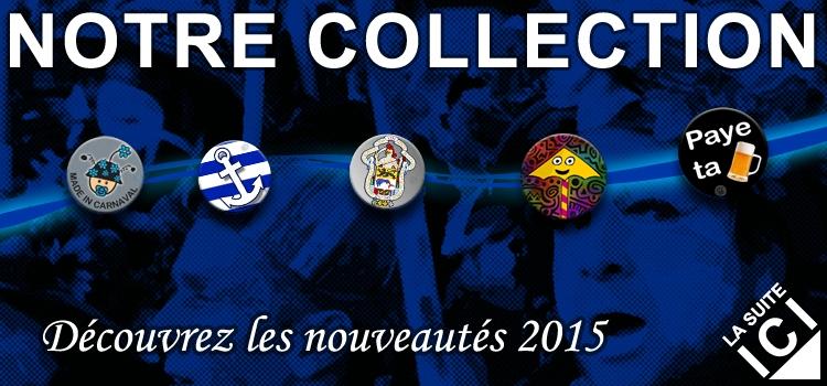 La collection des badges 2015 est arrivée !