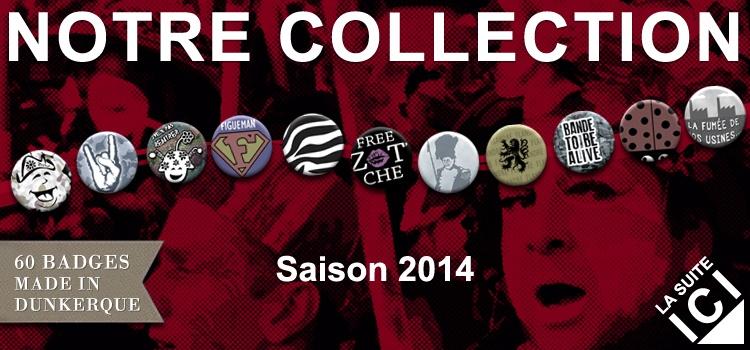 Les badges : Les nouveautés 2014