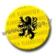 Badge / Magnet Lion Flandre / Vlaanderen