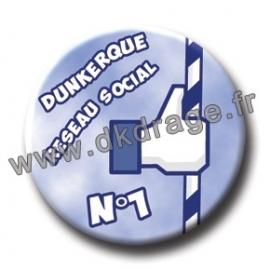 Badge DK Réseau Social N°1 38mm