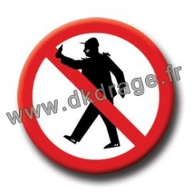 Badge / Magnet Ouaiche Ouaiche 38mm