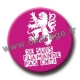 Badge / Magnet Flamande Pas Chti
