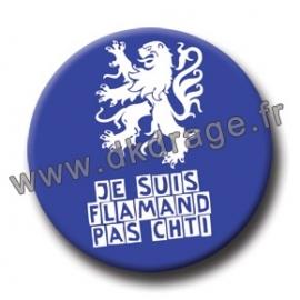 Badge / Magnet Flamand Pas Chti