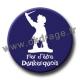 Badge / Magnet Fier d'être Dunkerquois