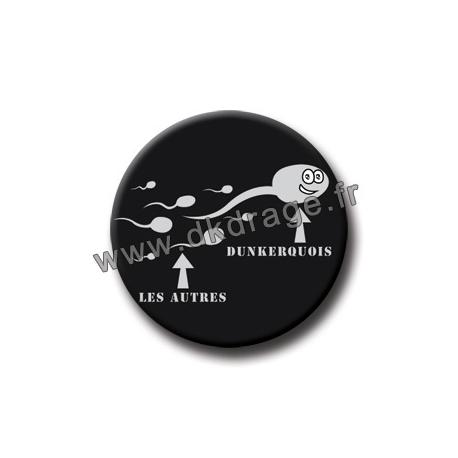 Badge / Magnet Spermato Dunkerquois 38mm