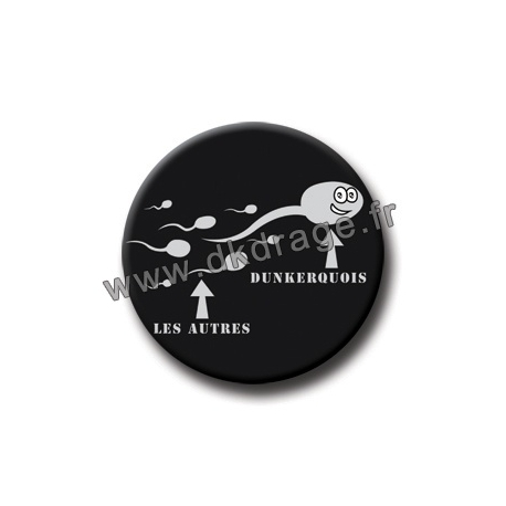 Badge Spermato Dunkerquois 38mm
