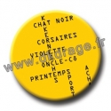 Badge / Magnet Bals croisés 38mm