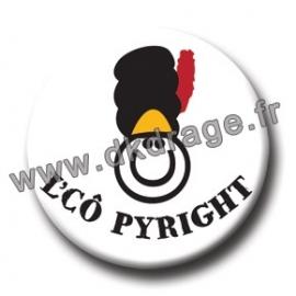 Badge L'Cô Pyright 38mm