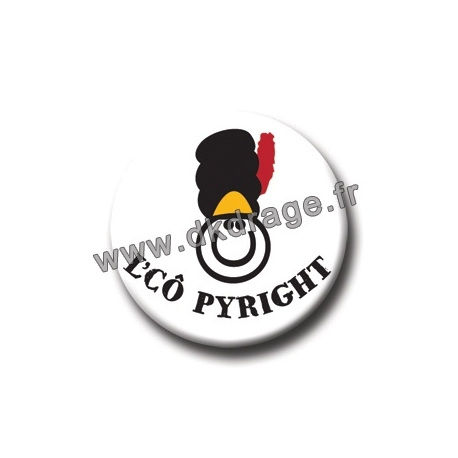 Badge / Magnet L'Cô Pyright 38mm