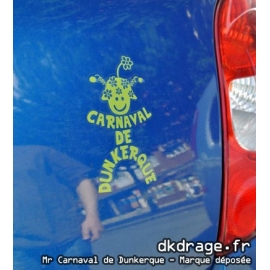 Sticker Mr Carnaval Anis
