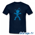 T-shirt Bleu Marine Mr Carnaval de Dunkerque