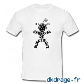 T-shirt Blanc Mr Carnaval de Dunkerque