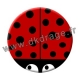 Badge / Magnet Coccinelle 38mm