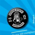 Badge Kiekeun Reusche - Les 15 ans