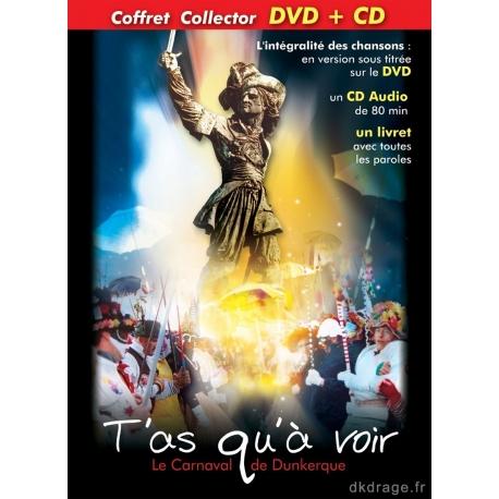 """DVD + CD """"T'as qu'à voir"""" Carnaval de Dunkerque"""