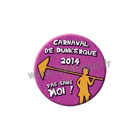 Badge Carnaval de Dunkerque 2014 collector