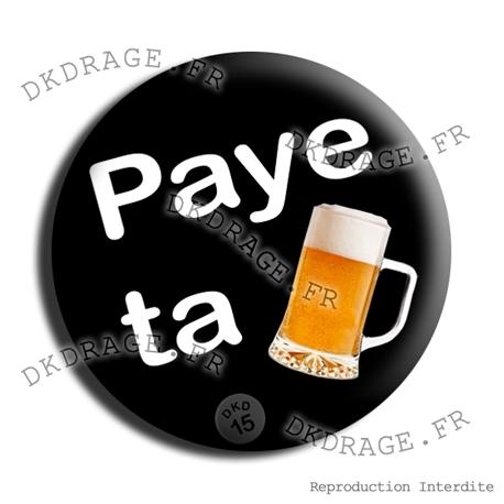 Badge Paye ta pinte !