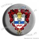 Badge / Magnet Grandes armes de Jean Bart