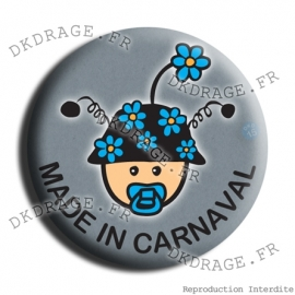 Badge Bébé Made in Carna