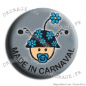 Badge / Magnet Bébé Made in Carna