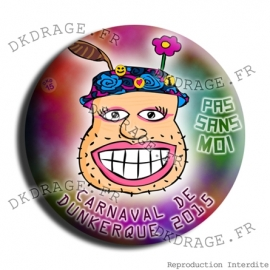 Badge Carnaval de Dunkerque 2015 collector
