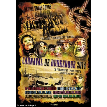 Affiche Alternative Carnaval de Dunkerque 2014