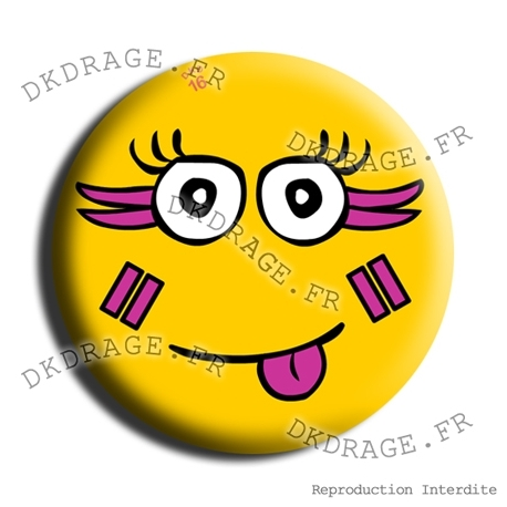 Badge Le sourire