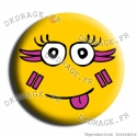 Badge / Magnet Carna Smiley